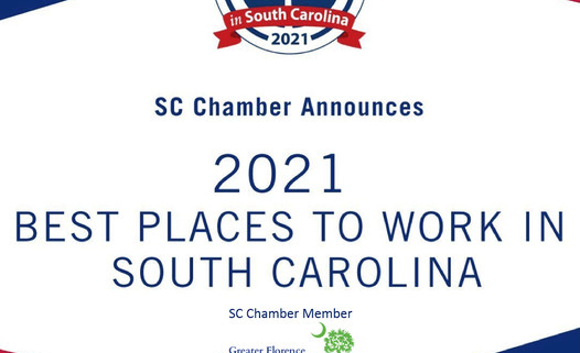 """South Carolina Chamber Announces the """"2021 Best Places to ..."""